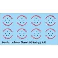 Llantas OZ Racing Tipo 3 - 5 tornillos