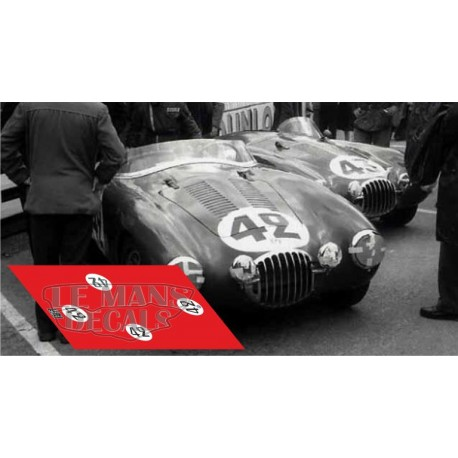 Osca MT4 1500 - Le Mans 1954 nº42