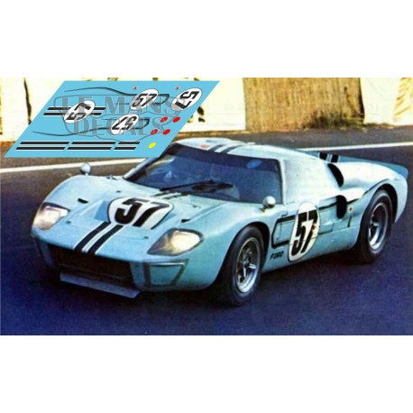 Ford MkII - Le Mans 1967 nº57