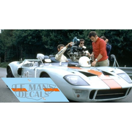 Ford GT40 - Film Le Mans 1971