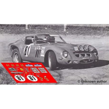 Ferrari 250 GTO - Rally Girona 1968 nº81