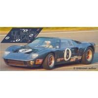 Ford GT40 - Le Mans 1969 nº 8