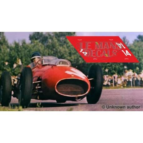 Ferrari 246 F1 - GP Italia 1958 nº14