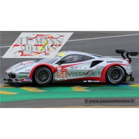 Ferrari 488 GTE - Le Mans 2019 nº54