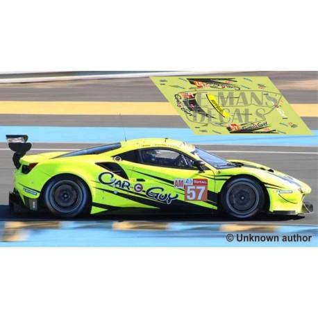 Ferrari 488 GTE - Le Mans 2019 nº57