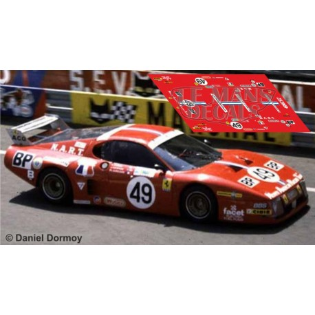 Ferrari 512 BB - Le Mans 1981 nº49