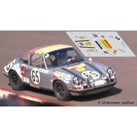 Porsche 911S - Le Mans 1971 nº65