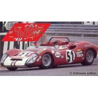 Fiat 1000 SP - Le Mans 1969 nº51