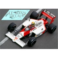 McLaren MP4/4 NSR Formula Slot - Monaco GP 1988 nº12