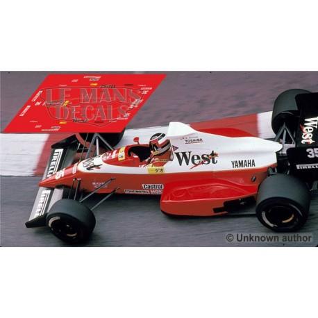 Zakspeed 891 NSR Formula  Slot - Monaco GP 1989 nº34