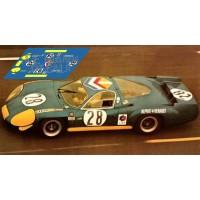 Alpine A220  - Le Mans 1969 nº28