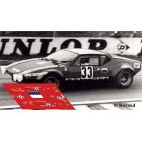De Tomaso Pantera Gr3 - Le Mans 1972 nº33