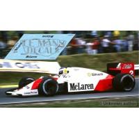 McLaren MP4/2C NSR Formula Slot - GP Inglaterra 1986 nº1