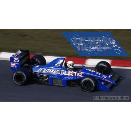 Ligier JS31 NSR Formula Slot - GP Belgica 1988 nº25