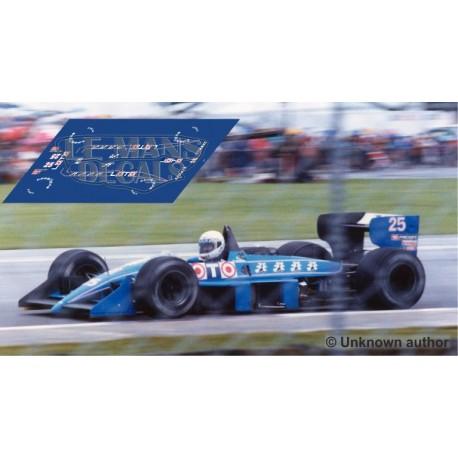 Ligier JS31 NSR Formula Slot - British GP 1988 nº25
