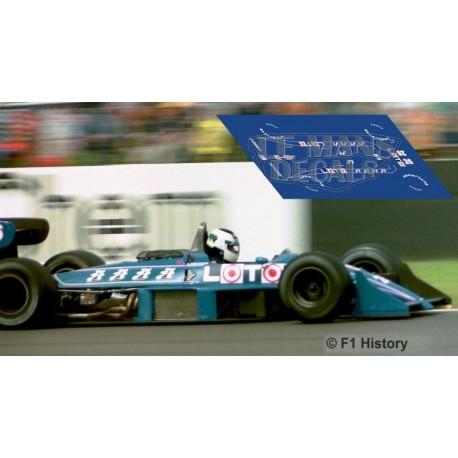 Ligier JS31 NSR Formula Slot - GP Inglaterra 1988 nº26