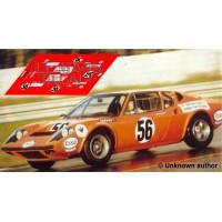 Ligier JS2 - Le Mans 1972 nº56