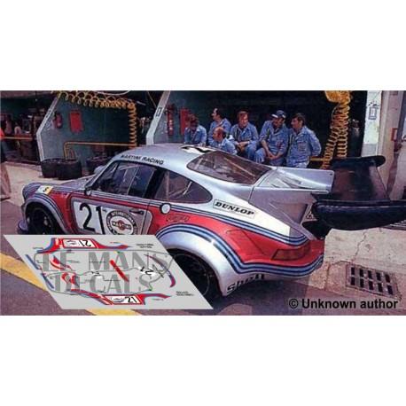 Porsche 911 Carrera Turbo - Le Mans 1974 nº21