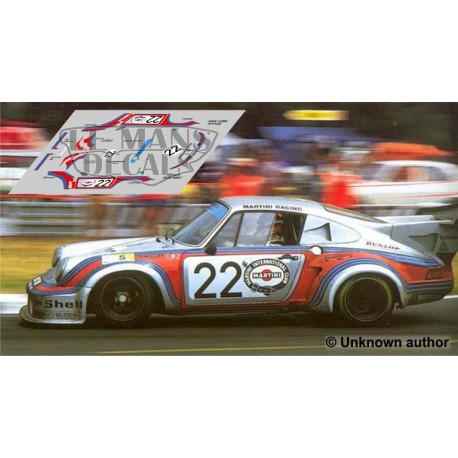 Porsche 911 Carrera Turbo - Le Mans 1974 nº22