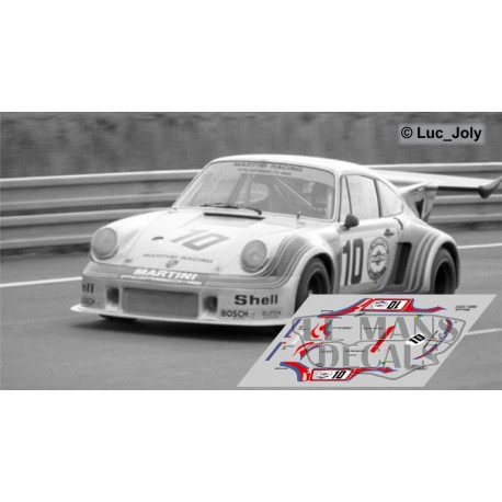 Porsche 911 Carrera Turbo - Le Mans Test 1974 nº10