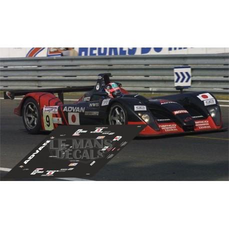 Dome S101 - Le Mans 2003 nº9