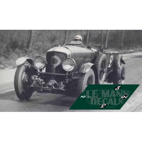 Bentley Speed Six - Le Mans 1929 nº1
