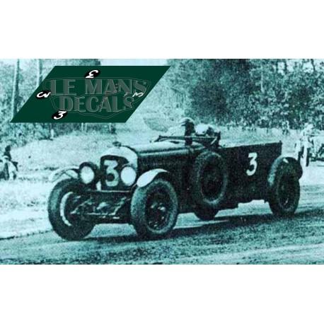 Bentley Speed Six - Le Mans 1930 nº3