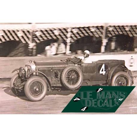 Bentley Speed Six - Le Mans 1930 nº4