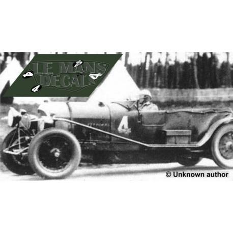 Bentley 4 1/2 Litre - Le Mans 1928 nº3