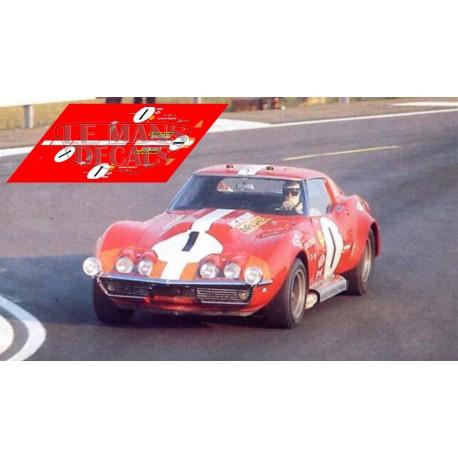 Corvette C3 L88 - Le Mans 1969 nº1