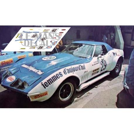 Corvette C3 L88 - Le Mans 1972 nº29