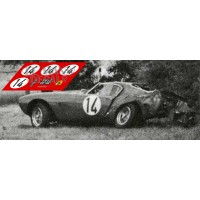 Ferrari 250 GT SWB - Le Mans 1960 nº14