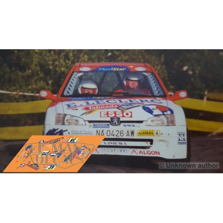 Peugeot 106 Maxi - Rallye Catalunya 1999 nº39