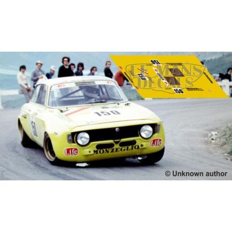 Alfa Romeo Giulia GTA  - Targa Florio 1973 nº150