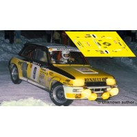 Renault 5 Turbo - Rallye Montecarlo 1981 nº9