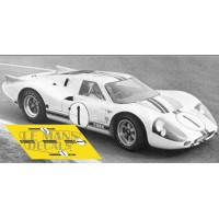 Ford MkIV - Test Le Mans 1967 nº1
