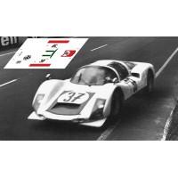 Porsche 906 - Le Mans 1967 nº37