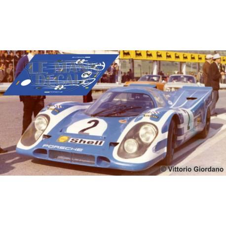Porsche 917 k - Test Targa Florio 1970 nº2