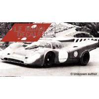 Porsche 917 k - Test Targa Florio 1970