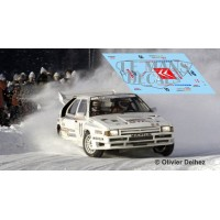 Citroën BX 4TC - Rallye Suecia 1986 nº11