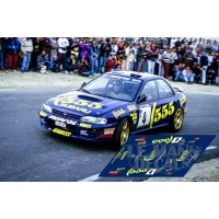 Subaru Impreza - Rallye Catalunya 1995 nº4