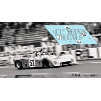 Mirage M6 - Le Mans Test 1973 nº52