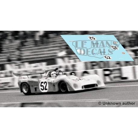 Mirage M6 - Le Mans Test 1973 nº52