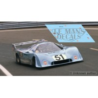 Mirage M6 Coupe - Le Mans Test 1973 nº51