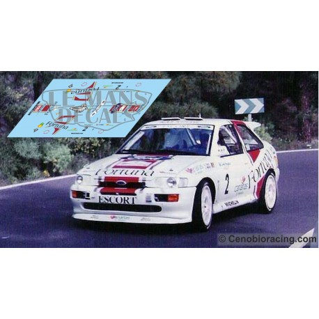 Ford Escort RS Cosworth - Rallye Canarias 1997 nº2