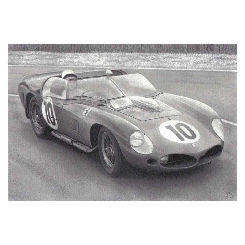 Ferrari 250 Tri 61 Le Mans 1961 N 186 10 Lemansdecals