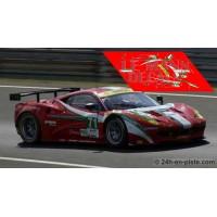Ferrari 458 Italia GTC - Le Mans 2012 nº71