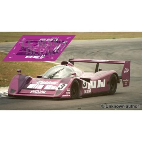 Jaguar XJR-14  - 1.000 Km Silverstone 1991 nº3