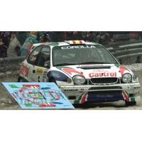 Toyota Corolla WRC - Rallye Montecarlo 1998 nº5