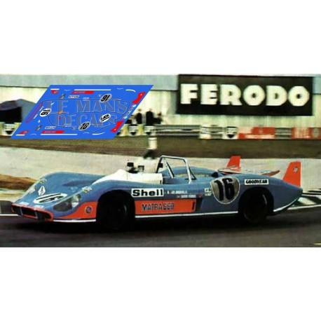 Matra MS660  - Le Mans 1972 nº16